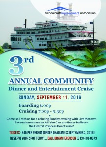2016 Detroit Princess Dinner Cruise